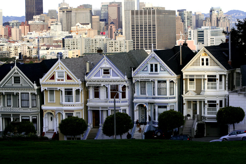 San Francisco céntrico, Ca imagen de archivo libre de regalías