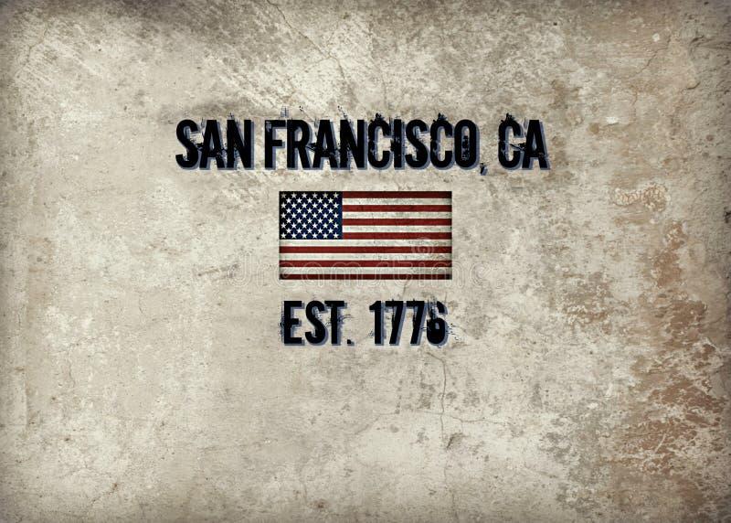 San Francisco, CA ilustración del vector