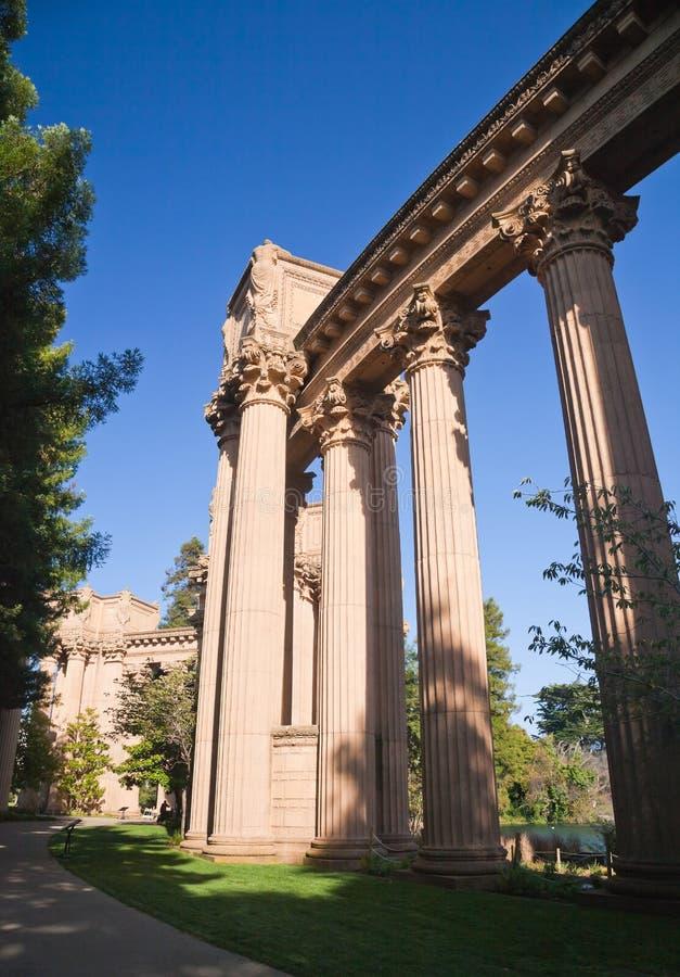 SAN FRANCISCO CA USA - Oct 19, 2011 : The Palace Of Fine Arts - Ancient building of San Francisco, California, United states , USA stock photos