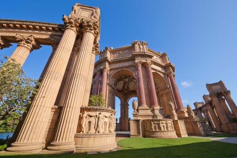 SAN FRANCISCO CA USA - Oct 19, 2011 : The Palace Of Fine Arts - Ancient building of San Francisco, California, United states , USA royalty free stock photos