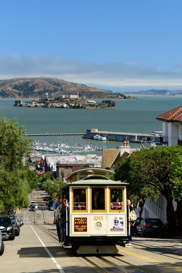 San Francisco Cable Car arkivbild