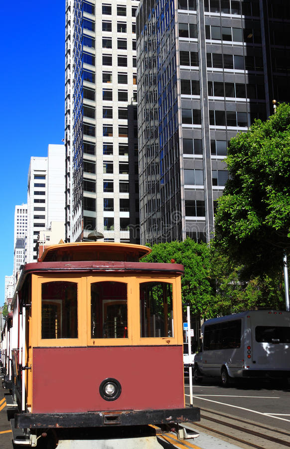 San Francisco Cable Car photos libres de droits