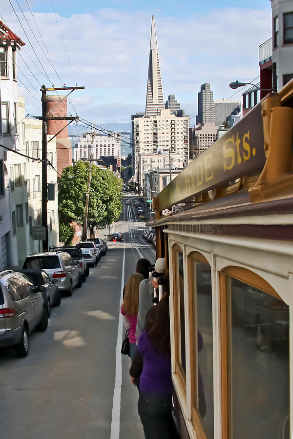 Download San Francisco cablecar editorial image. Image of cable - 18928080