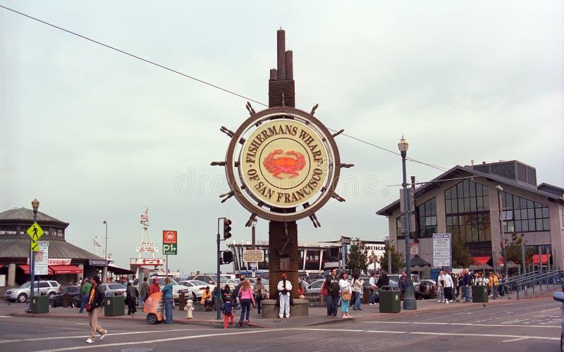 San Francisco - cais do pescador fotos de stock royalty free