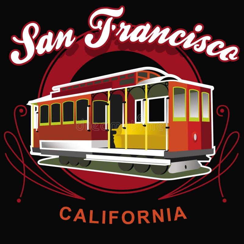 San Francisco Califórnia ilustração do vetor
