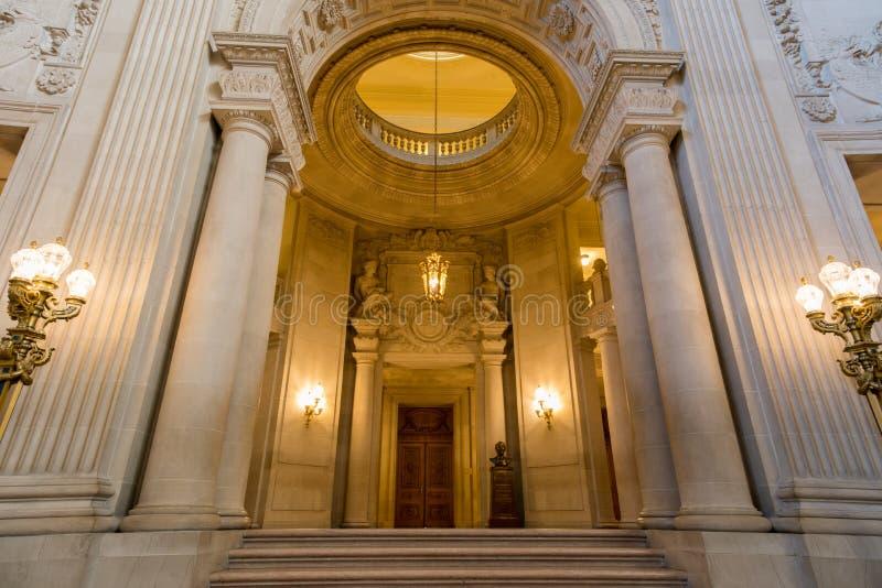 San Francisco, Califórnia, EUA - 1º de junho de 2017: San Francisco City Hall foto de stock