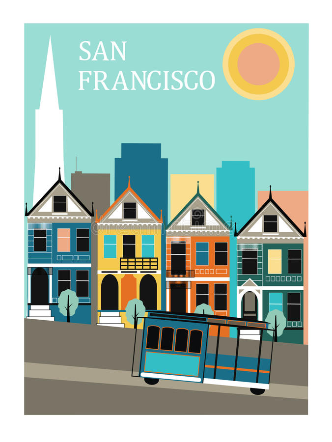 Free San Francisco California. Stock Images - 30108514