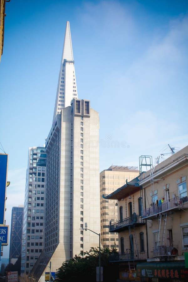 San Francisco California Architecture arkivfoton