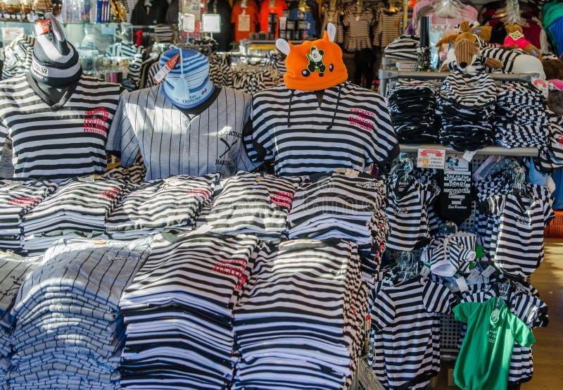 Alcatraz Gift Shop royalty free stock photo