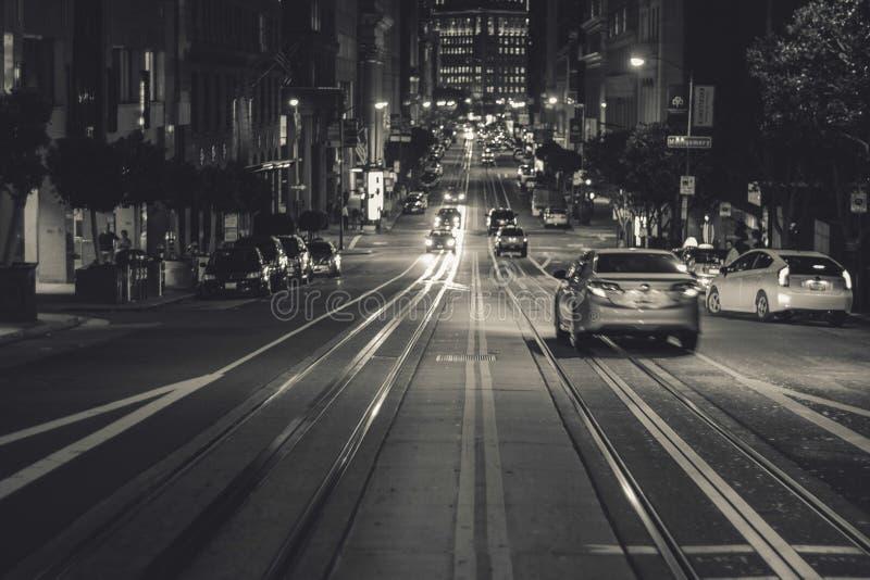 San Francisco, California At Night Free Public Domain Cc0 Image