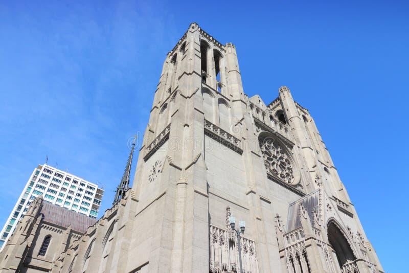 San Francisco cathedral royalty free stock photos