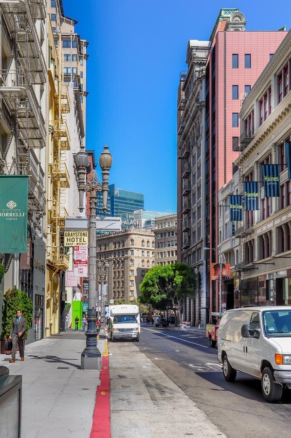 San Francisco central imagen de archivo