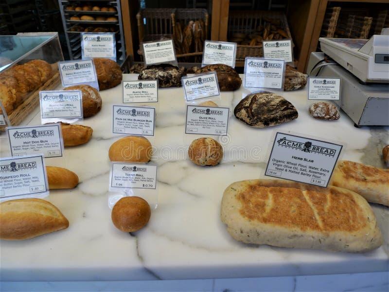 San Francisco, chlebowy sklep obrazy stock