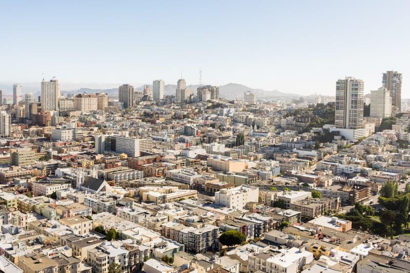 San Francisco City stockfoto
