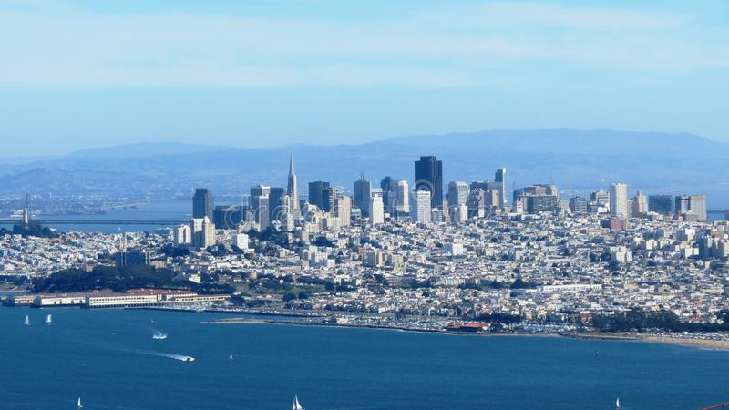 San Francisco City immagine stock libera da diritti