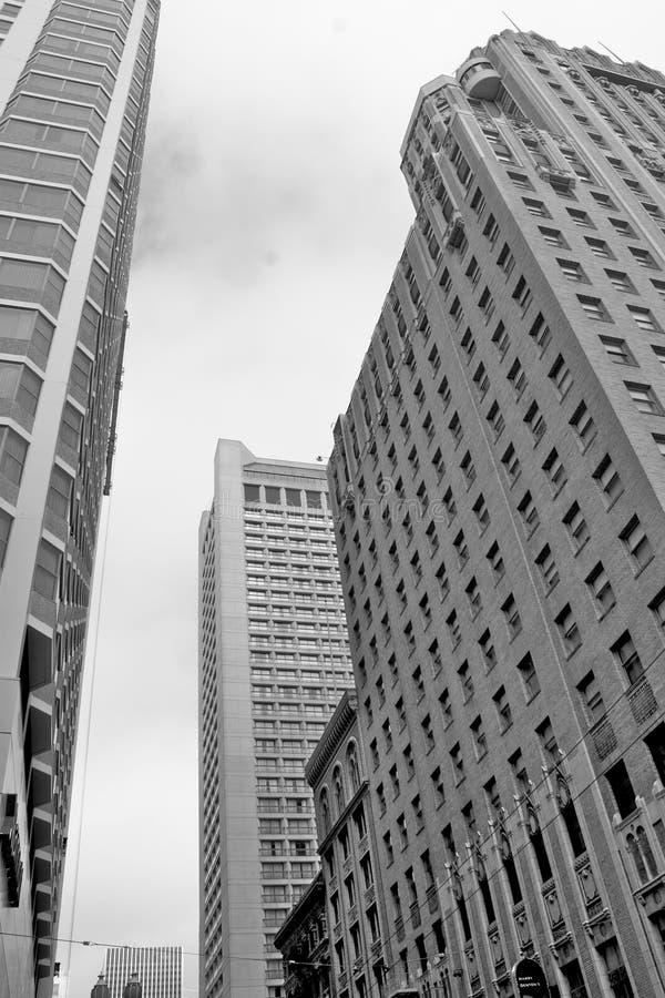 San Francisco City Buildings Royalty Free Stock Photography