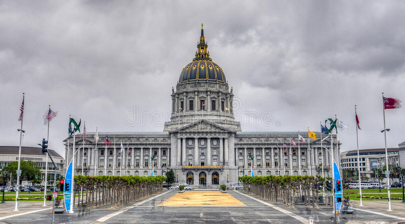 San Francisco City Hall photo stock