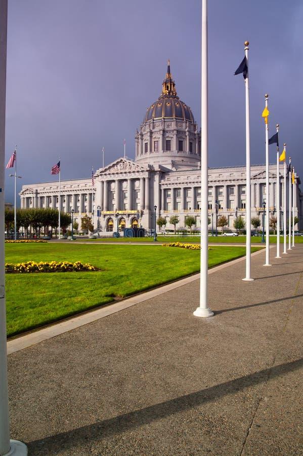 San Francisco City Hall stock afbeeldingen