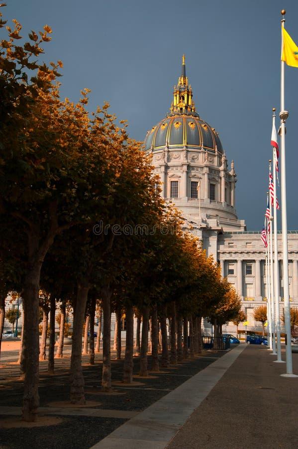 San Francisco City Hall royalty-vrije stock fotografie