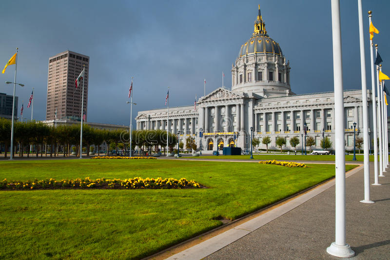 San Francisco City Hall royalty-vrije stock afbeelding