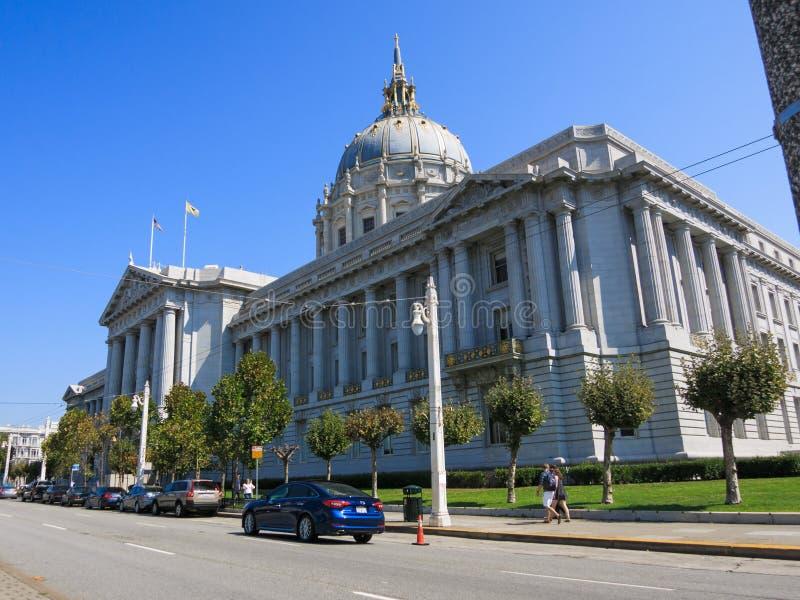 San Francisco City Hall stockbild