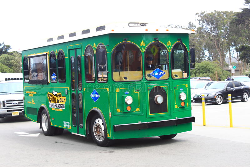Download San Francisco City Tour Bus Imagen de archivo editorial - Imagen de francisco, verde: 41911764