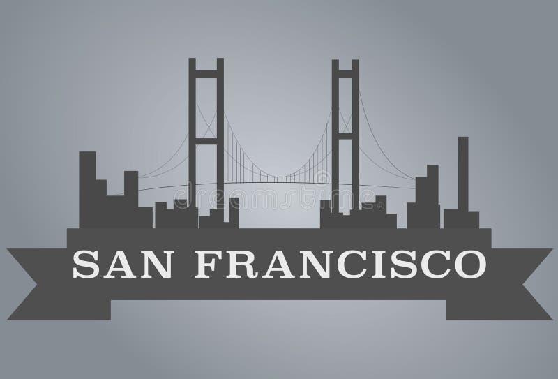 San Francisco City royalty free illustration