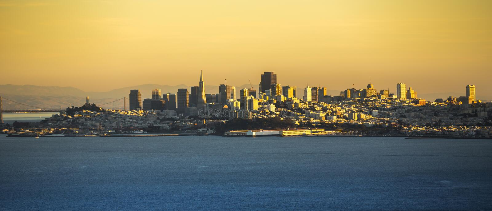 San Francisco Cityscape stockfoto