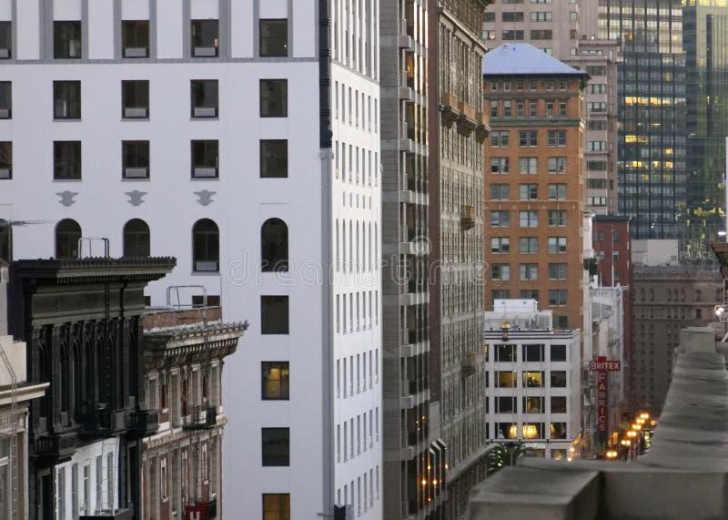 San Francisco Cityscape foto de archivo libre de regalías