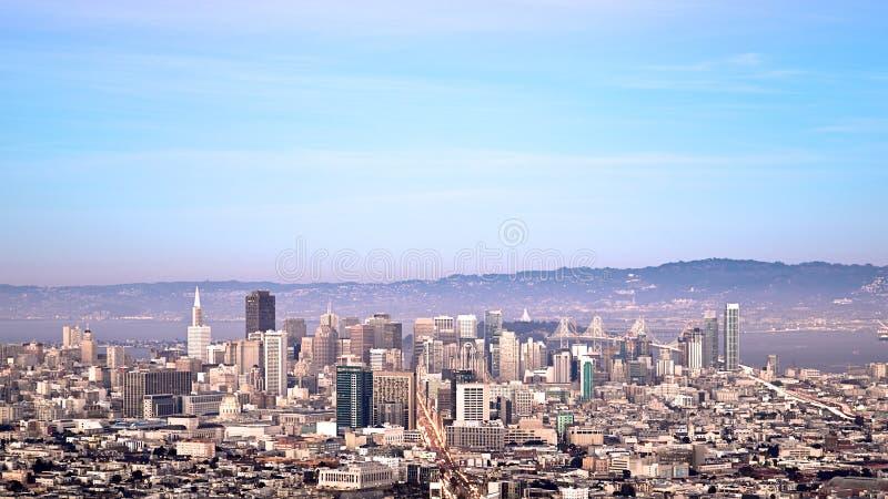 San Francisco Cityscape photos libres de droits