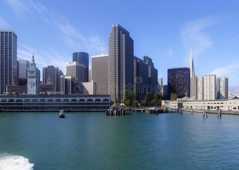 San Francisco Cityscape From The Bay Editorial Image
