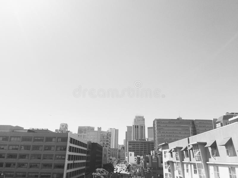 San Francisco cityscape stock images