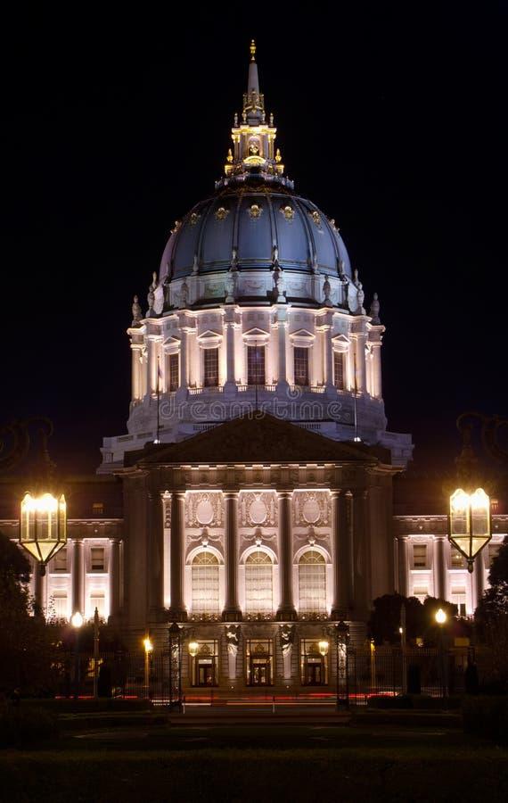 San Francisco civic centrum zdjęcie stock