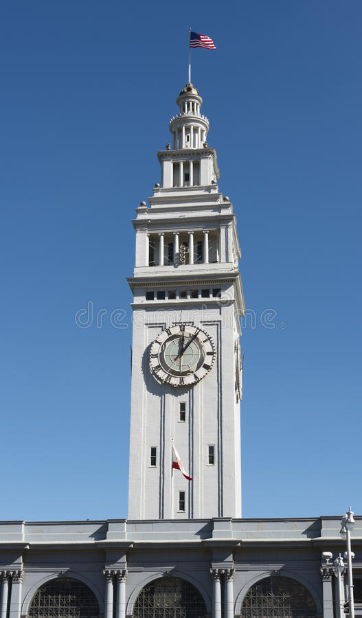 San Francisco Clock Tower royaltyfri foto