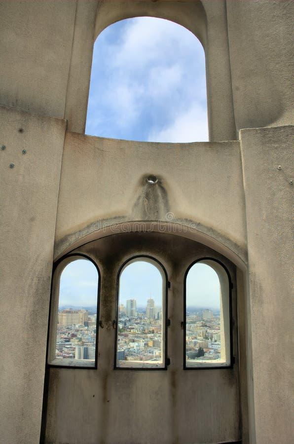 San Francisco Coit Tower royalty free stock photos
