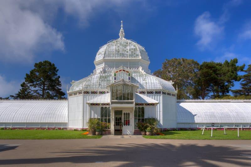 San Francisco Conservatory des fleurs image libre de droits