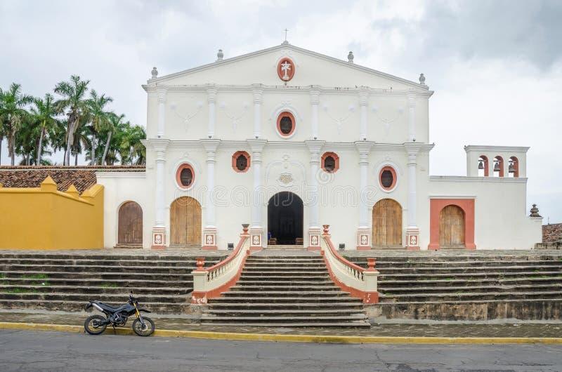 San Francisco Convent em Granada, Nicarágua fotos de stock royalty free