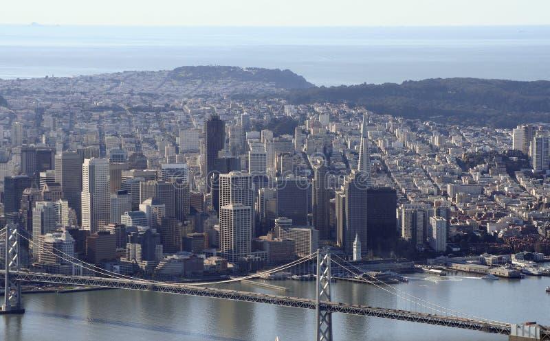 San Francisco da baixa fotografia de stock royalty free