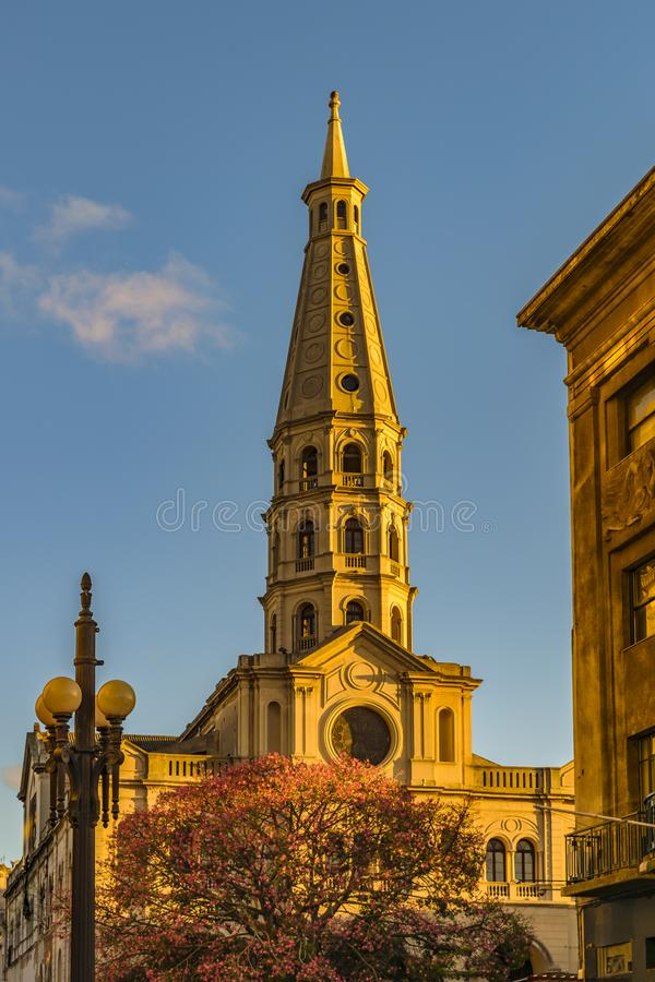 San Francisco De Asis Kościół, Ciudad Vieja, Montevideo, Urugwaj obraz royalty free