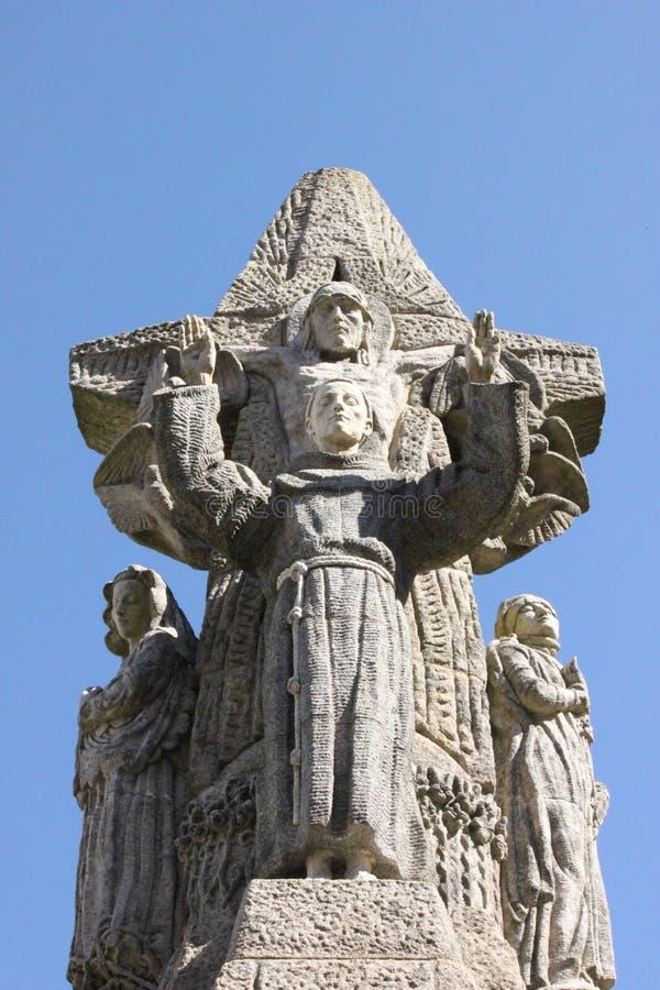 San Francisco de Asis Monument stock image