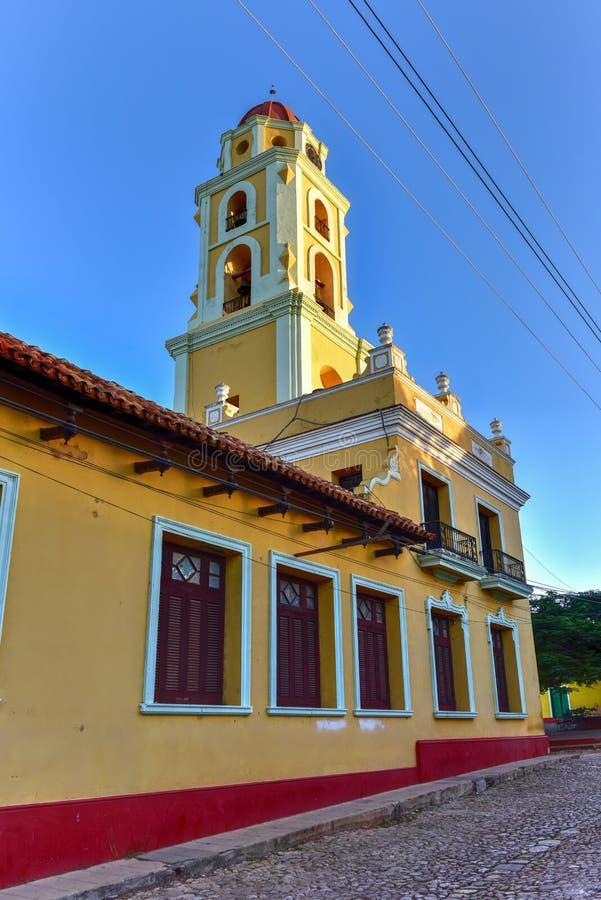 San Francisco de Asis - Trinidad, Cuba fotografia stock libera da diritti