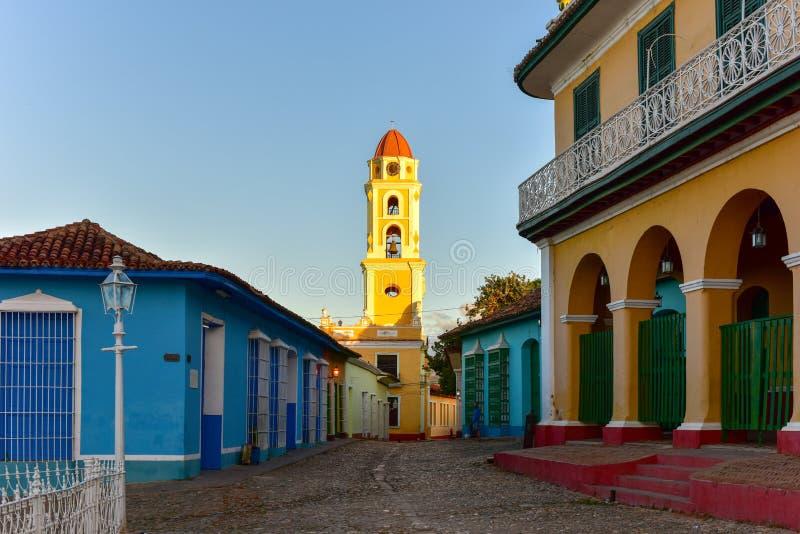 San Francisco de Asis - Trinidad, Kuba arkivbilder