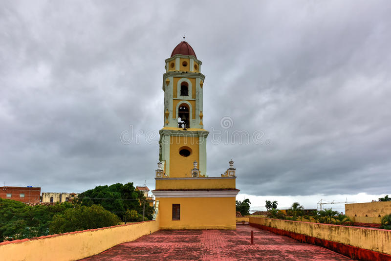 San Francisco de Asis - Trinidad, Kuba arkivfoto