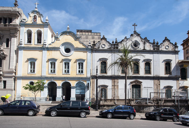 San Francisco de Assis Church Sao Paulo Brazil stock image