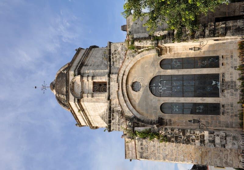 San Francisco de Paula Church royaltyfri foto