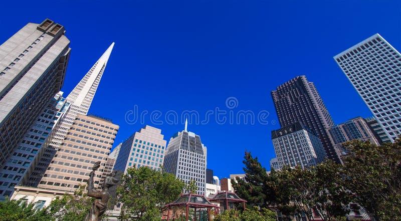 San Francisco de stad in, Californië, de V.S. royalty-vrije stock fotografie