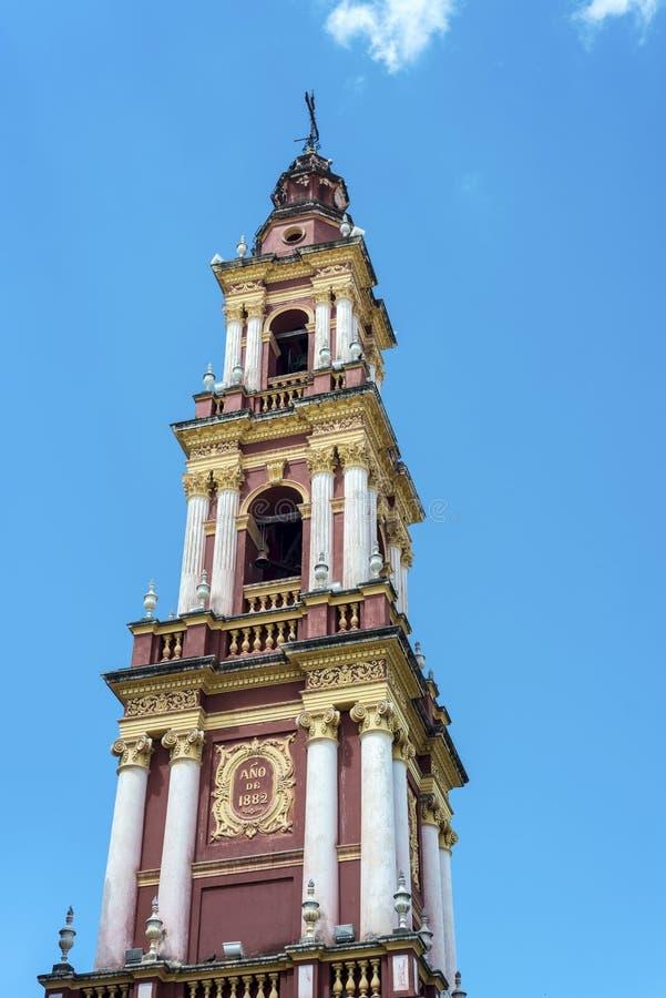 San Francisco in de stad van Salta, Argentinië royalty-vrije stock foto