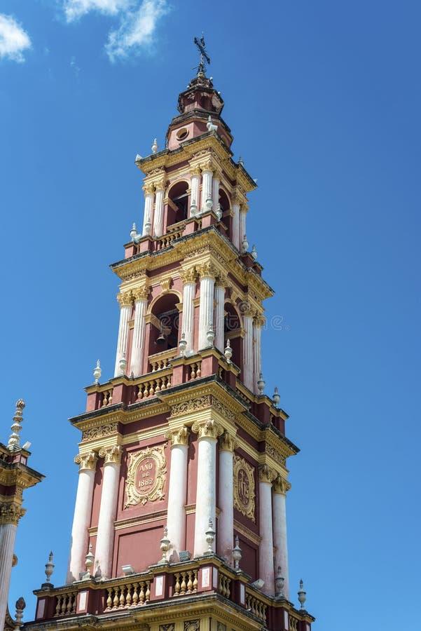 San Francisco in de stad van Salta, Argentinië royalty-vrije stock foto's