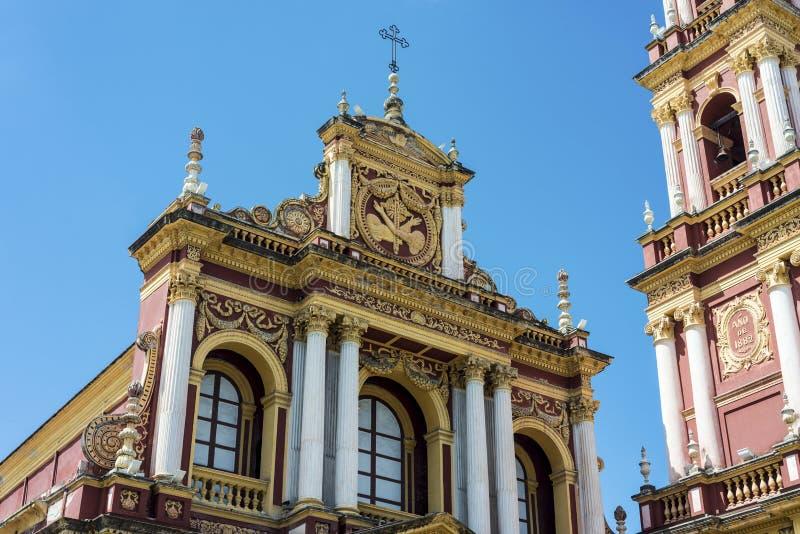 San Francisco in de stad van Salta, Argentinië royalty-vrije stock fotografie