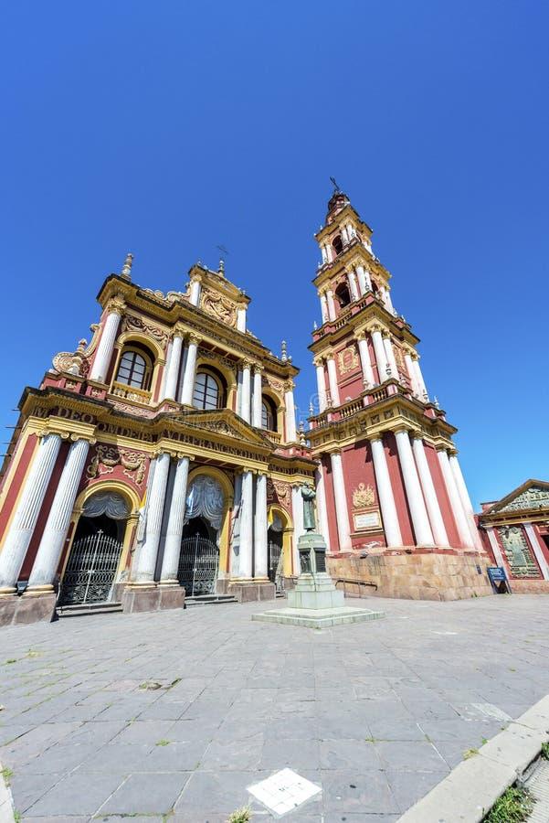 San Francisco in de stad van Salta, Argentinië royalty-vrije stock afbeelding